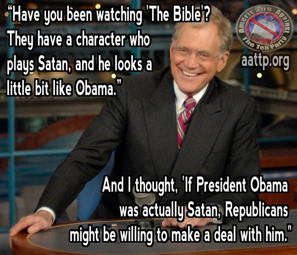 If President Obama Was Actually Satan, Republicans Might Be Willing To Deal With Him!
