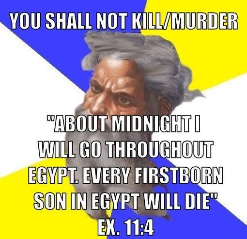 The Bible Says It Is Wrong To Kill