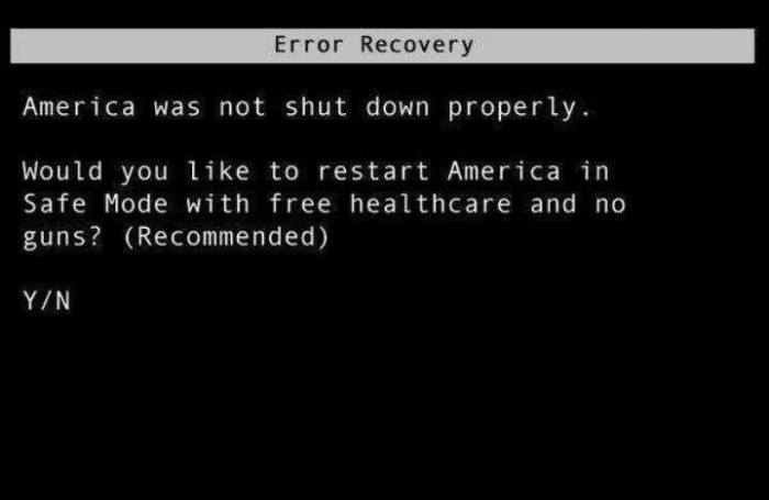 LetsRestartAmericaInSafeMode